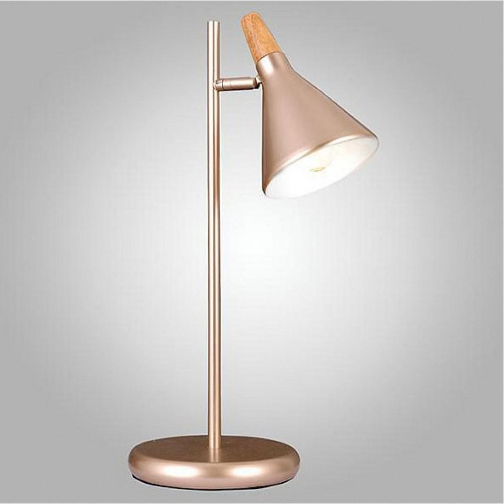 Настольная лампа декоративная Eurosvet 01012 01012/1 перламутровое золото