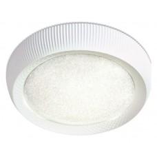 Накладной светильник Ambrella Orbital Crystal Sand FS1240 WH/SD 48W D500