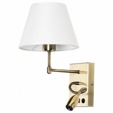 Бра с подсветкой Arte Lamp Elba A2581AP-2AB