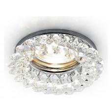 Встраиваемый светильник Ambrella Crystal K206 K206 CL/CH