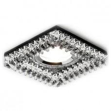Встраиваемый светильник Ambrella Crystal 4 K120 BK