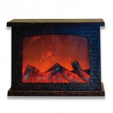 Электрокамин напольный Uniel Brown Fireplace UL-00007291