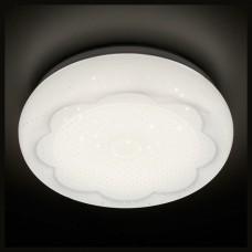 Накладной светильник Ambrella Simple 4 F570 WH 15W 4200K D300