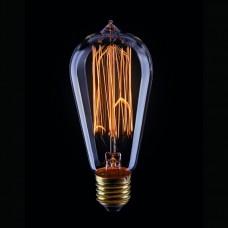 Лампа накаливания Voltega Loft E27 60Вт 2200K VG6-ST58A1-60W