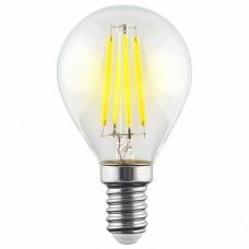 Лампа светодиодная Voltega Globe E14 9Вт 2800K VG10-G1E14warm9W-F
