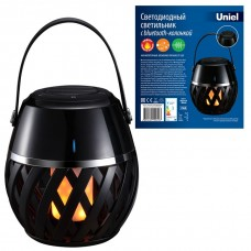 Фонарь кемпинговый Uniel Flame Black UL-00006768