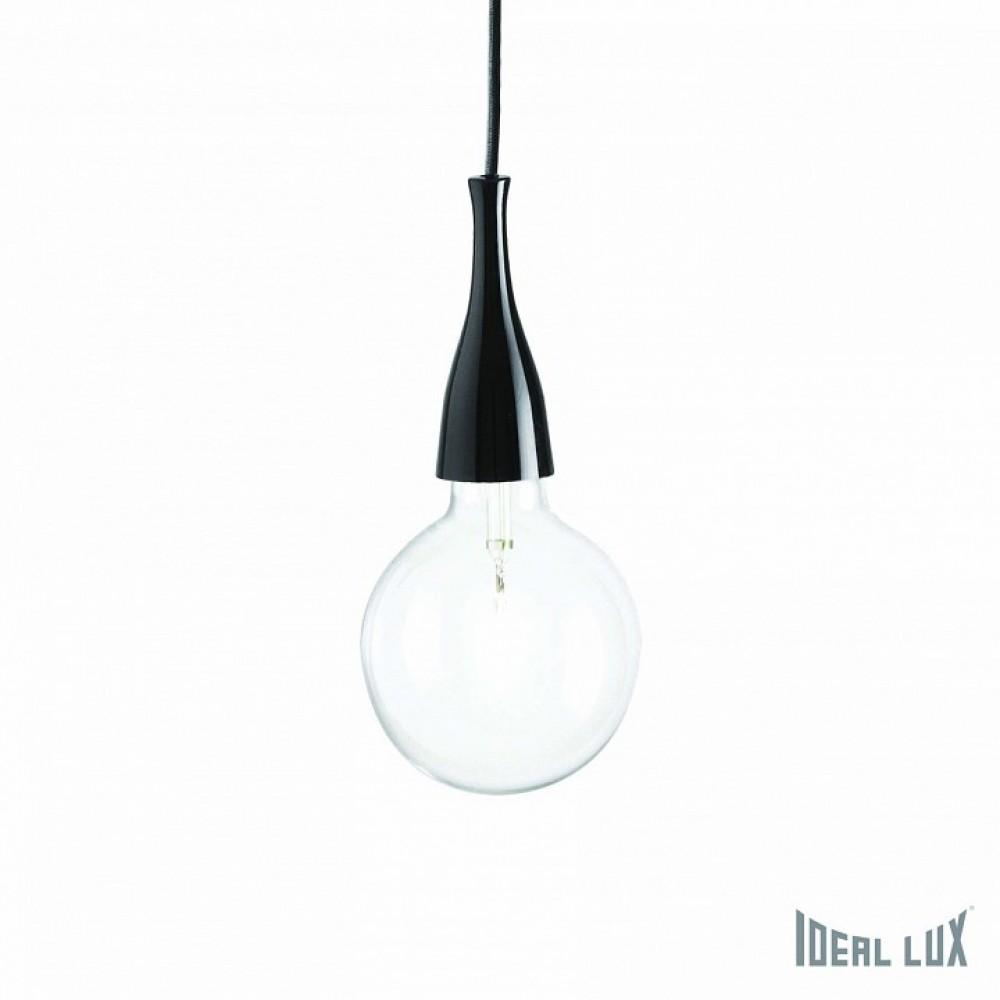 Подвесной светильник Ideal Lux Minimal MINIMAL SP1 NERO