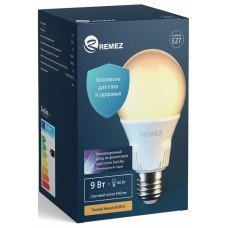 Лампа светодиодная Remez RZ-103-A60-E27-9W-3K