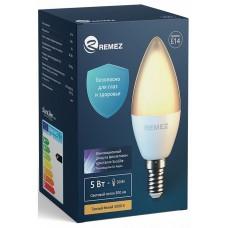 Лампа светодиодная Remez RZ-111-C37-E14-5W-3K