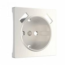 Накладка для розетки с заземлением и 2хUSB Werkel WL13-USB-CP (перламутровый рифленый)