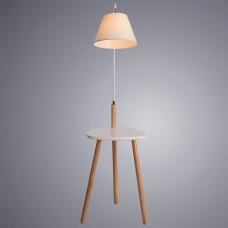 Торшер с полкой Arte Lamp Combo A9201PN-1WH