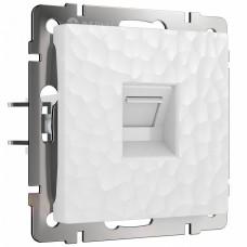 Розетка Ethernet RJ-45 без рамки Werkel W1281001 (белый)