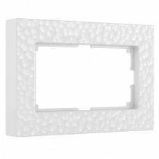 Рамка для двойной розетки Werkel W0082401 (белый)