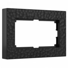 Рамка для двойной розетки Werkel W0082408 (черный)