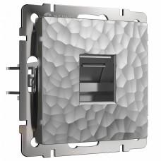 Розетка Ethernet RJ-45 Werkel W1281006 (серебряный)