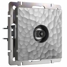 ТВ-розетка без рамки Werkel W1283006 (серебряный)