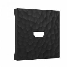 Накладка для ТВ-розетки Werkel W1296008 (черный)