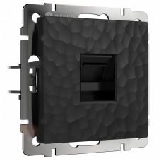 Розетка двойная Ethernet RJ-45 без рамки Werkel W1281008 (черный)