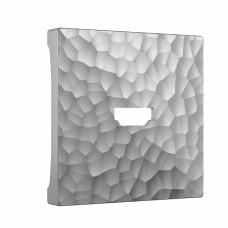 Накладка для ТВ-розетки Werkel W1296006 (серебряный)
