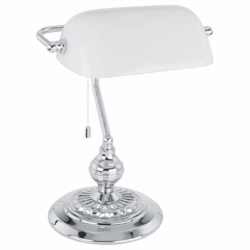 Настольная лампа декоративная Eglo ПРОМО Banker 90968
