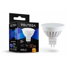 Лампа светодиодная Voltega Ceramics GU5.3 10Вт 2800K VG1-S1GU5.3warm10W-C