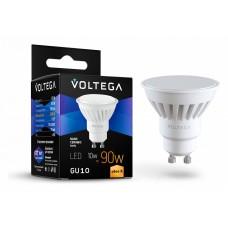 Лампа светодиодная Voltega Ceramics GU10 10Вт 2800K VG1-S1GU10warm10W-C
