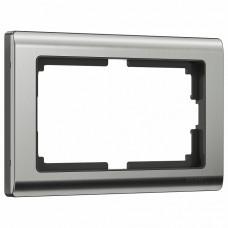 Рамка для двойной розетки Werkel Metallic W0081602