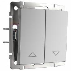Выключатель для жалюзи без рамки Werkel W112 1 W1124506