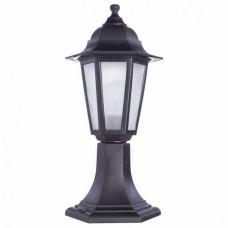 Наземный низкий светильник Arte Lamp Zagreb A1216FN-1BK