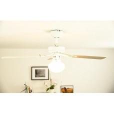 Светильник с вентилятором Westinghouse Vegas White 72185WES