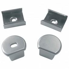 Набор заглушек и скоб для профиля Uniel UFE-N07 SILVER A POLYBAG UL-00000627