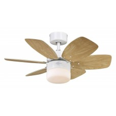 Светильник с вентилятором Westinghouse Flora Royal White 72424WES