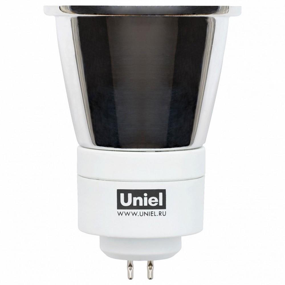 Лампа компактная люминесцентная Uniel GU5.3 7Вт 2800K 00593