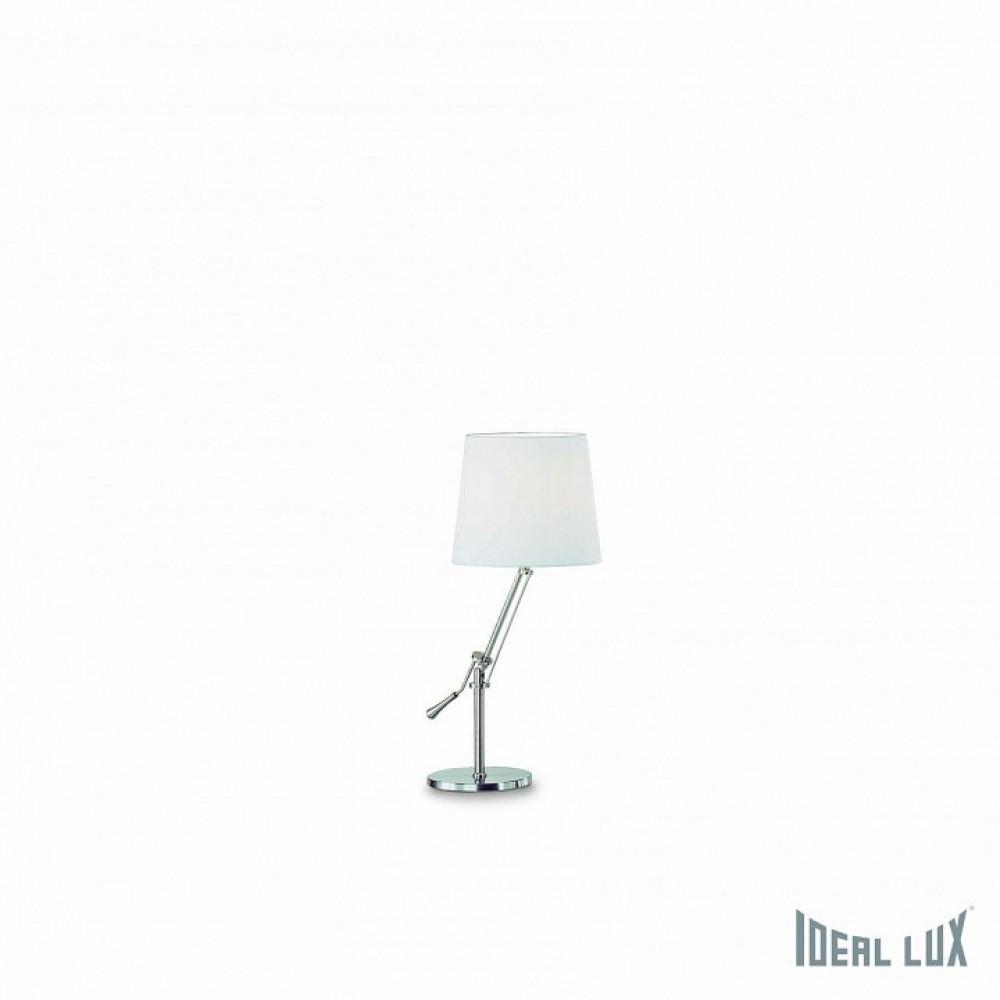 Настольная лампа декоративная Ideal Lux Regol REGOL TL1 BIANCO