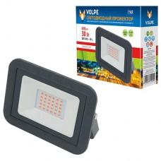 Настенный прожектор Volpe ULF-Q511 ULF-Q511 30W/RED IP65 220-240В BLACK картон