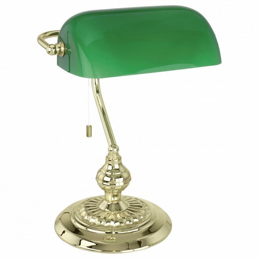 Настольная лампа декоративная Eglo ПРОМО Banker 90967
