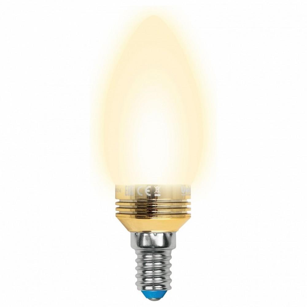 Лампа светодиодная Uniel E14 5Вт 3000K 10058