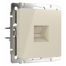 Розетка Ethernet RJ-45 без рамки Werkel Слоновая кость W1181003