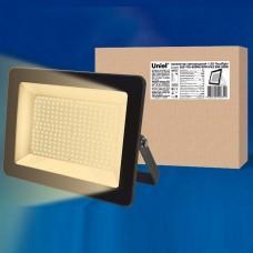 Настенный прожектор Uniel ULF-F18 ULF-F18-200W/WW IP65 200-240В BLACK