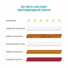 Лента светодиодная [1 м] Apeyron Electrics Стандарт (в блистере) smd 2835 209BL