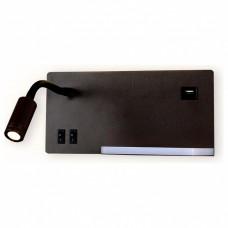 Бра Ambrella Wall 10 FW293 CF/BK кофе/черный LED 4200K 5W+3W 260*150*110