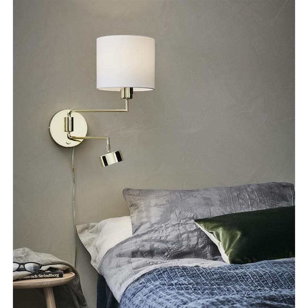 Бра с подсветкой в спальню. Что рекомендуют дизайнеры!