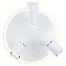 Спот Ambrella Wall 7 FW261/3 SWH белый песок LED 4200K 16W+3W*3 D280*120