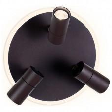 Спот Ambrella Wall 7 FW265/3 SCF кофе песок LED 6400K+4200K 16W+3W*3 D280*120
